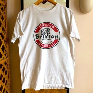 Brixton classic tee shirt